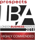 London Business Awards badge
