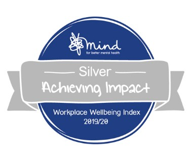 Mind Wellbeing Silver Award